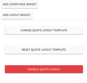 feature select quote layout template