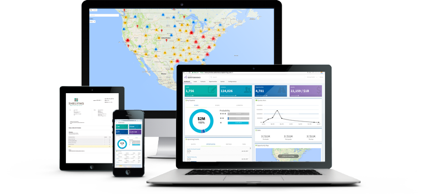 Manufacturing CRM and CPQ Software